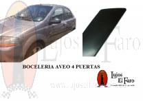 Boceleria Chevrolet Aveo Sedan