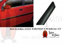 Boceleria Aveo Emotion GT 5 y 3 Puertas