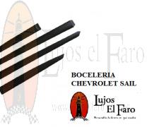 Boceles o Molduras Chevrolet Sail