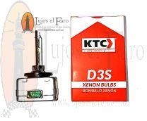 Bombillo Xenón D3S KTC