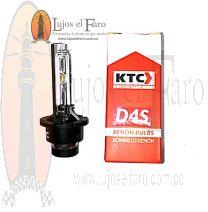 Bombillo Xenón D4S KTC