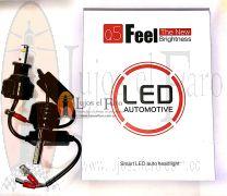 Bombillos LED para Farolas Renault Megane Doble Foco para altas
