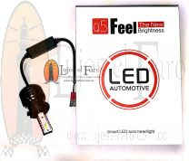 Bombillos LED para Farolas Renault Megane Doble Foco para Medias