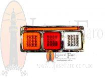 Stop Triple en led para carrocería 37.5cmX16.5cm