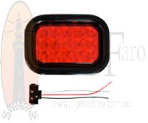 LAMPARA CARROCERIA LED RECTANGULAR
