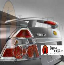 Spoiler Aleron Chevrolet Aveo Emotion Sedan