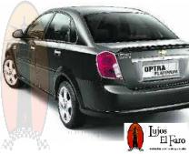 Spoiler Aleron Chevrolet Optra