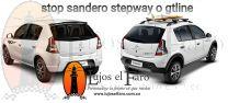 Stop Renault Sandero GT line y Stepway